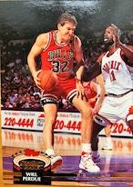 NBAカード 92-93TOPPS Will Perdue #27 BULLS