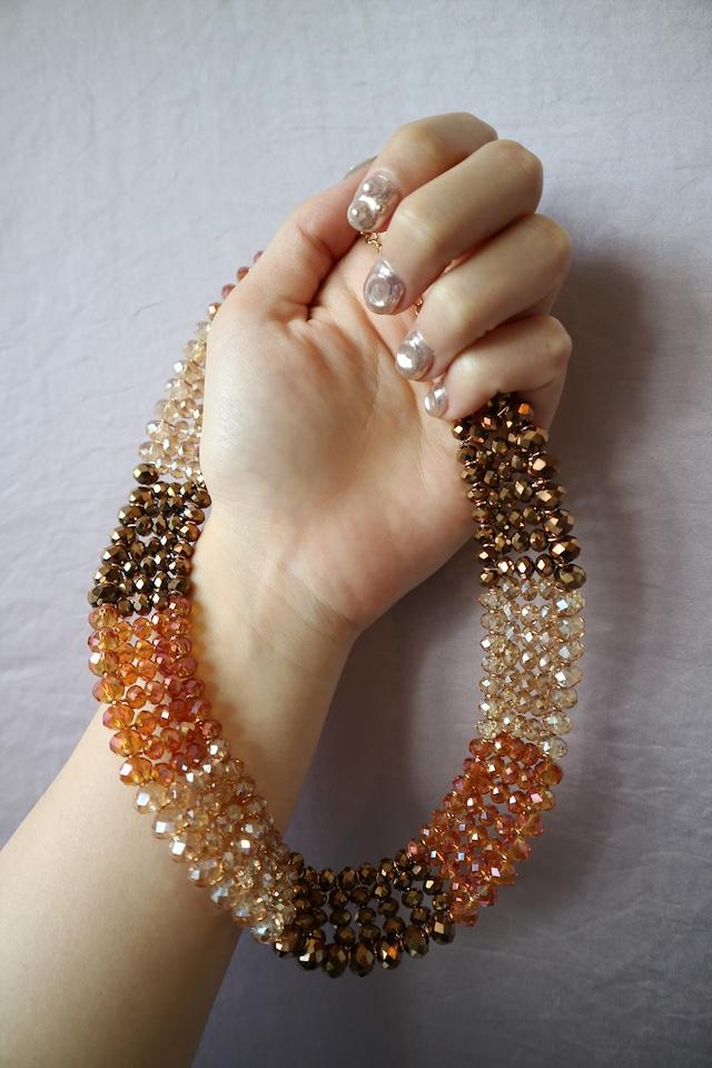 Aurora beads necklace