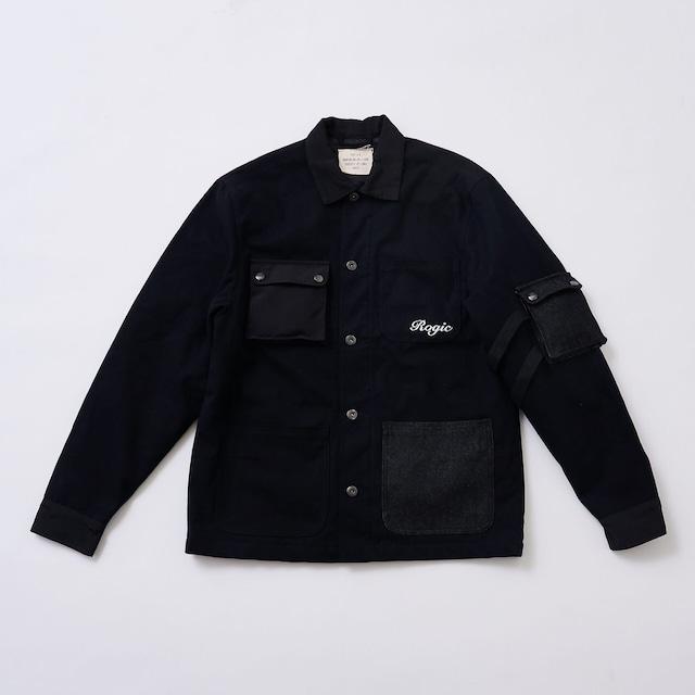 ROGIC Military Jacket Black