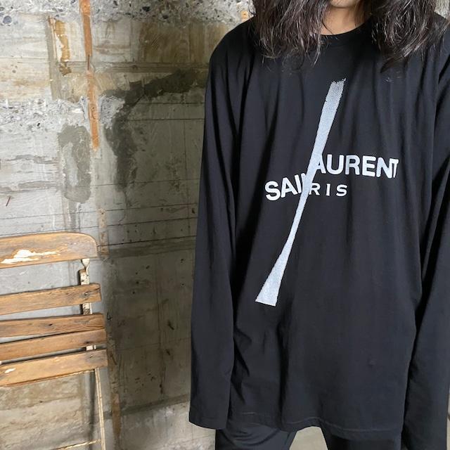 BLACK SCORE【ブラックスコア 】SAINT SLASH  LS Tシャツ(BLACK).