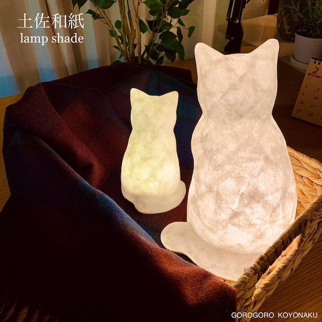 konekoのakari(和紙猫のランプ)お座り子猫