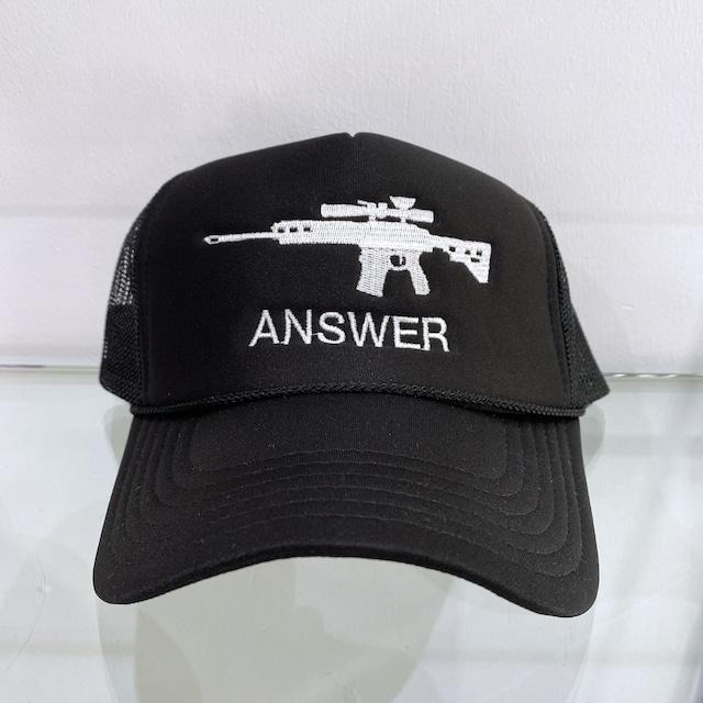 ANSWER COLLECTION / MACHINE-GUN MESH CAP