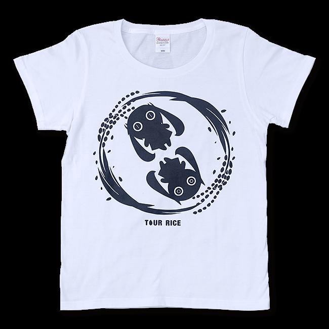 ピノキオピー 銀シャリTシャツ(レディース/白米バージョン) - 画像1