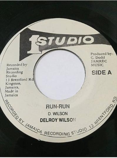 Delroy Wilson(ディロイウィルソン) - Run Run【7'】