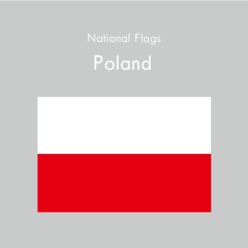 国旗ステッカー ポーランド