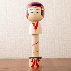 【新山吉紀・真由美 工人】弥治郎こけしのマスキングテープホルダー
