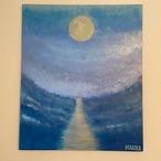 moon light /W606×H727mm【M40】