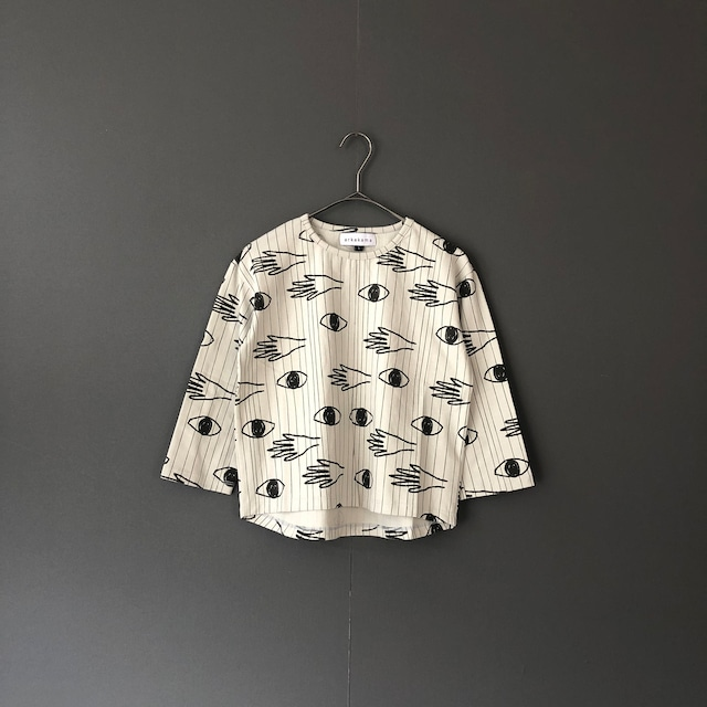 """Last one!arkakama """"COTTON SPD  L/S  LOOSE TEE"""" (E.LOOKING.T) XL AKT00503 -CS※1点までメール便可"""