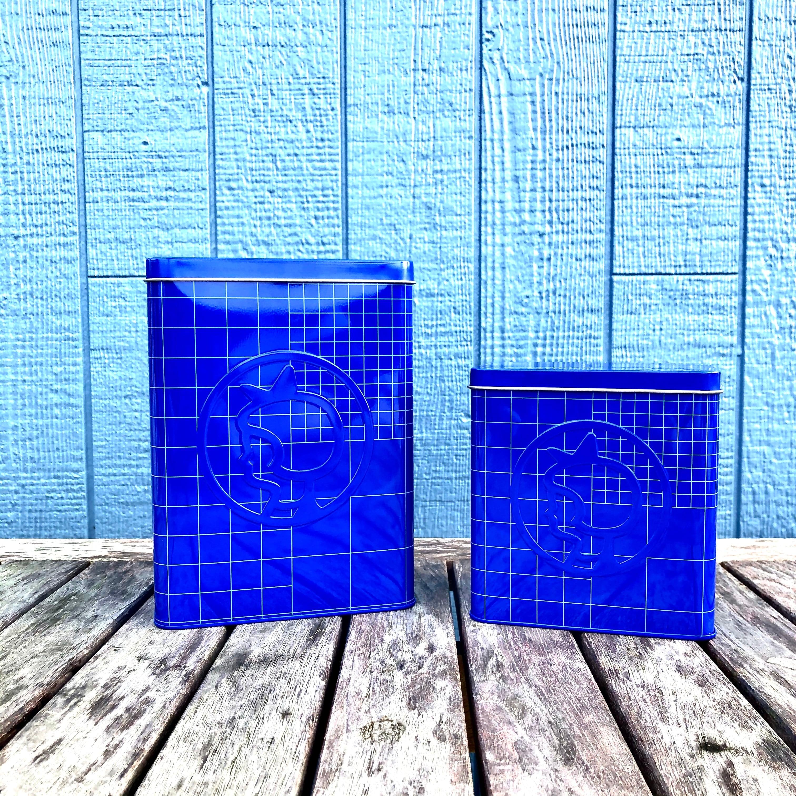 Irma イヤマ キャニスター缶 / 2ps(blue)