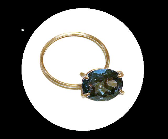 Stone Rings(ストーンリング)EMU015R-3 ロンドンブルートパーズ