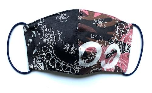 【COTEMER マスク 日本製】MILITARY × PRINT MASK 0514-161