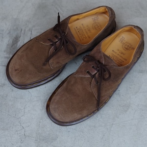 DR. MARTENS / Brown Suede / Made in ENGLAND / UK 6