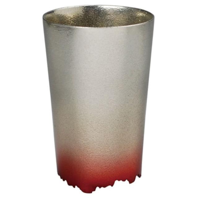 SHIKICOLORS SCARLET TUMBLER S(錫の酒器)