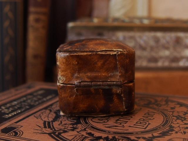イギリスアンティーク リングボックス