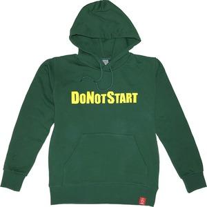 DO NOT START 深緑 (パーカー)