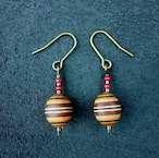 wood ball beads pierce PWB-001