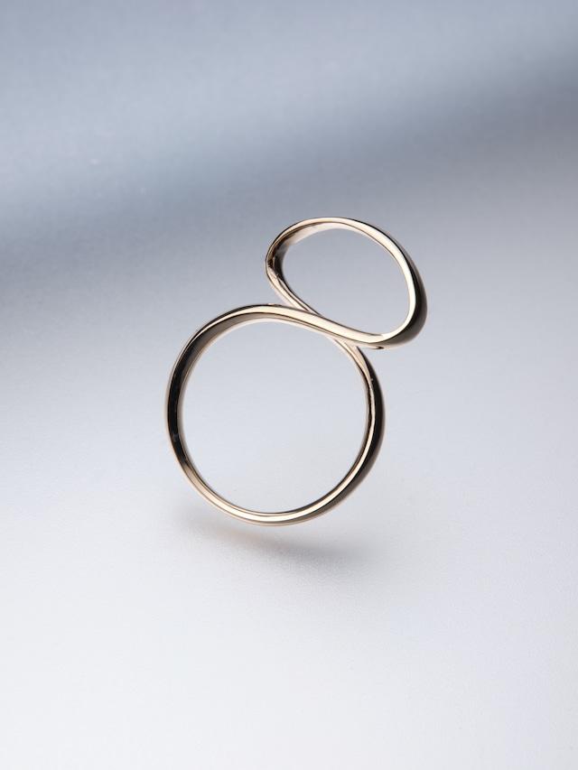 【K10】 ribon ring M(CAAC-R036-3)
