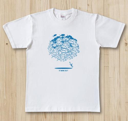お魚Tシャツ ガーラパラダイス / ギンガメアジ