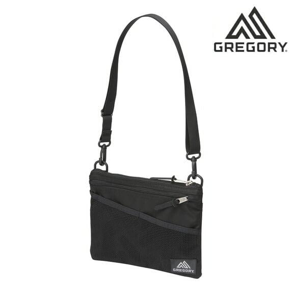 グレゴリー ショルダーバッグ クラシック サコッシュ M GREGORY CLASSIC SACOCHE M ブラック 109457