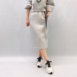 DOUBLE STANDARD CLOTHING(ダブルスタンダードクロージング) ESSENTIAL ダンボールニットスカート 2021秋冬新作[送料無料]