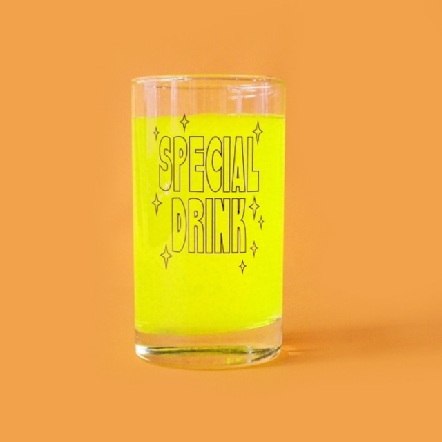 [AT-48] 「SPECIAL DRINK」グラス