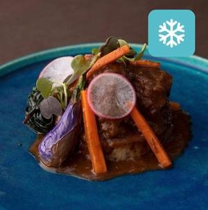 【冷凍保存配送】和牛頬肉の旨みたっぷり柔らか煮込み(2人前)