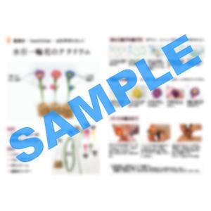 紙単衣オリジナル 『水引一輪花テラリウム』作り方説明書(ダウンロード版)