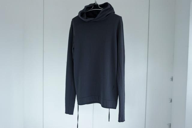 thom krom / Code hoodie / BLUE