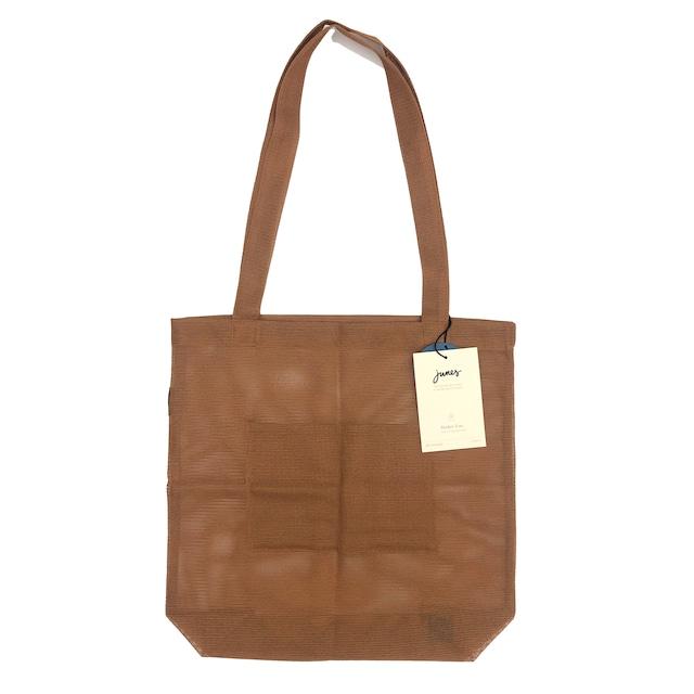 JUNES Bio-Knit Market Tote:Terracotta