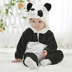 【ベビーコスプレ】パンダさんなりきりコスチューム S478