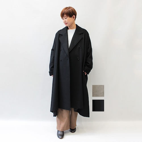 KAMILi(カミリ) WOOL BEAVER COAT 2021秋冬新作 [送料無料]
