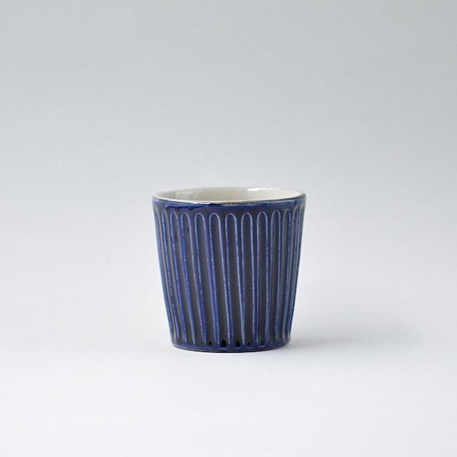 飴釉しのぎ飯マカイ(茶碗) 大