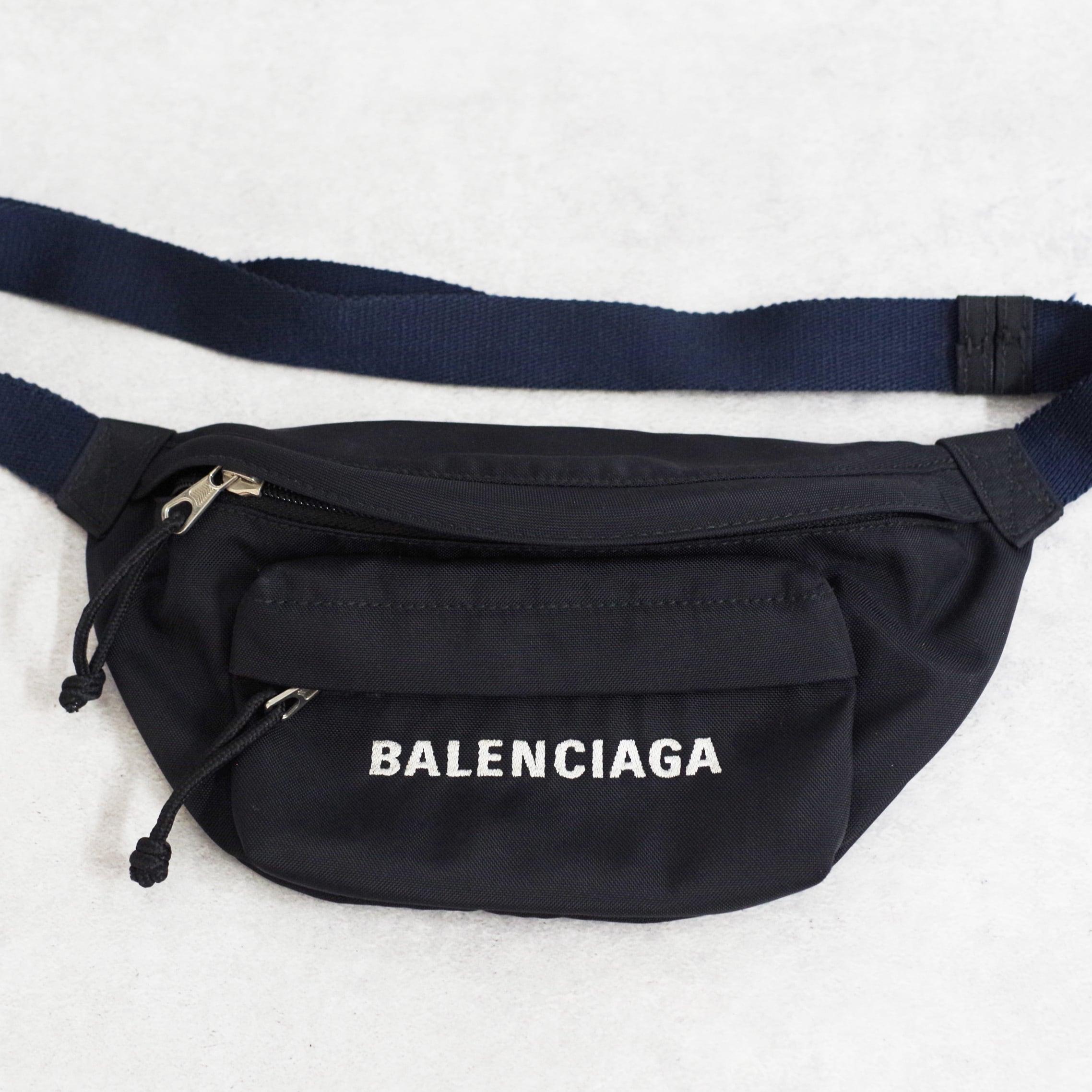 BALENCIAGA バレンシアガ ウエストバッグ ナイロン ブラック