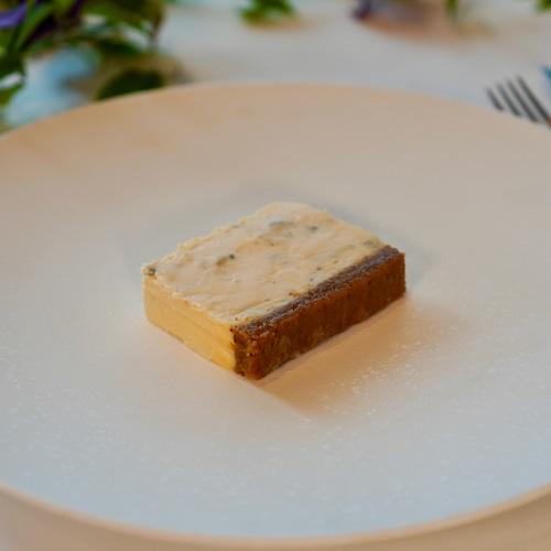 ロックフォールとシャトーディケムのチーズケーキ