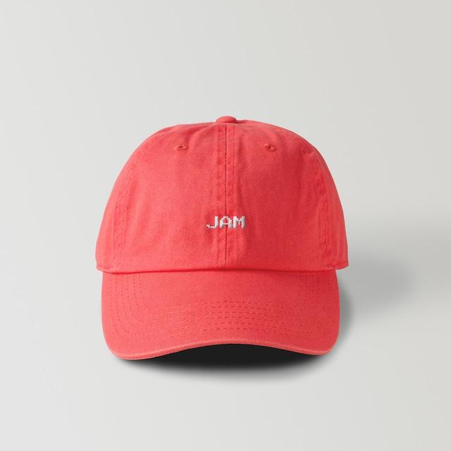 JAM LOGO CAP (CORAL)