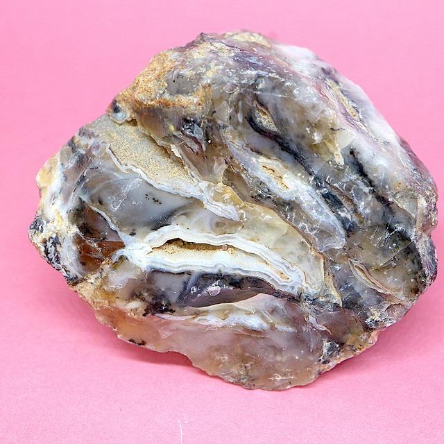 デンドリチック オパール デンドリティック ブラジル産 55,3g OP071 原石 鉱物 天然石 パワーストーン