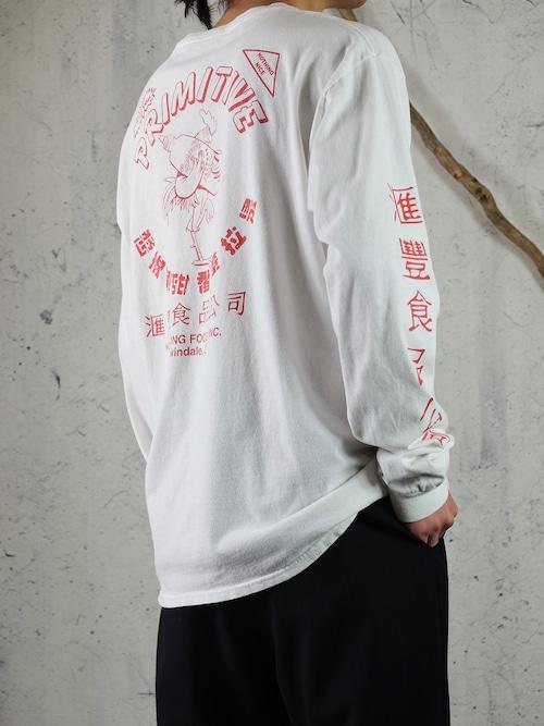 SRIRACHA print L/S T-shirt
