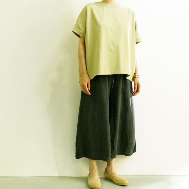 BROCANTE ブロカント ココン Tシャツ 39-159N コクーンシルエット半袖Tシャツ
