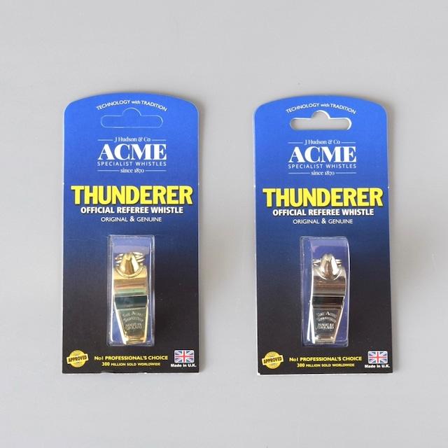 Acmec Thunderer 60.5 アクメ サンダラー 60.5  真鍮製 / ニッケル製 ホイッスル