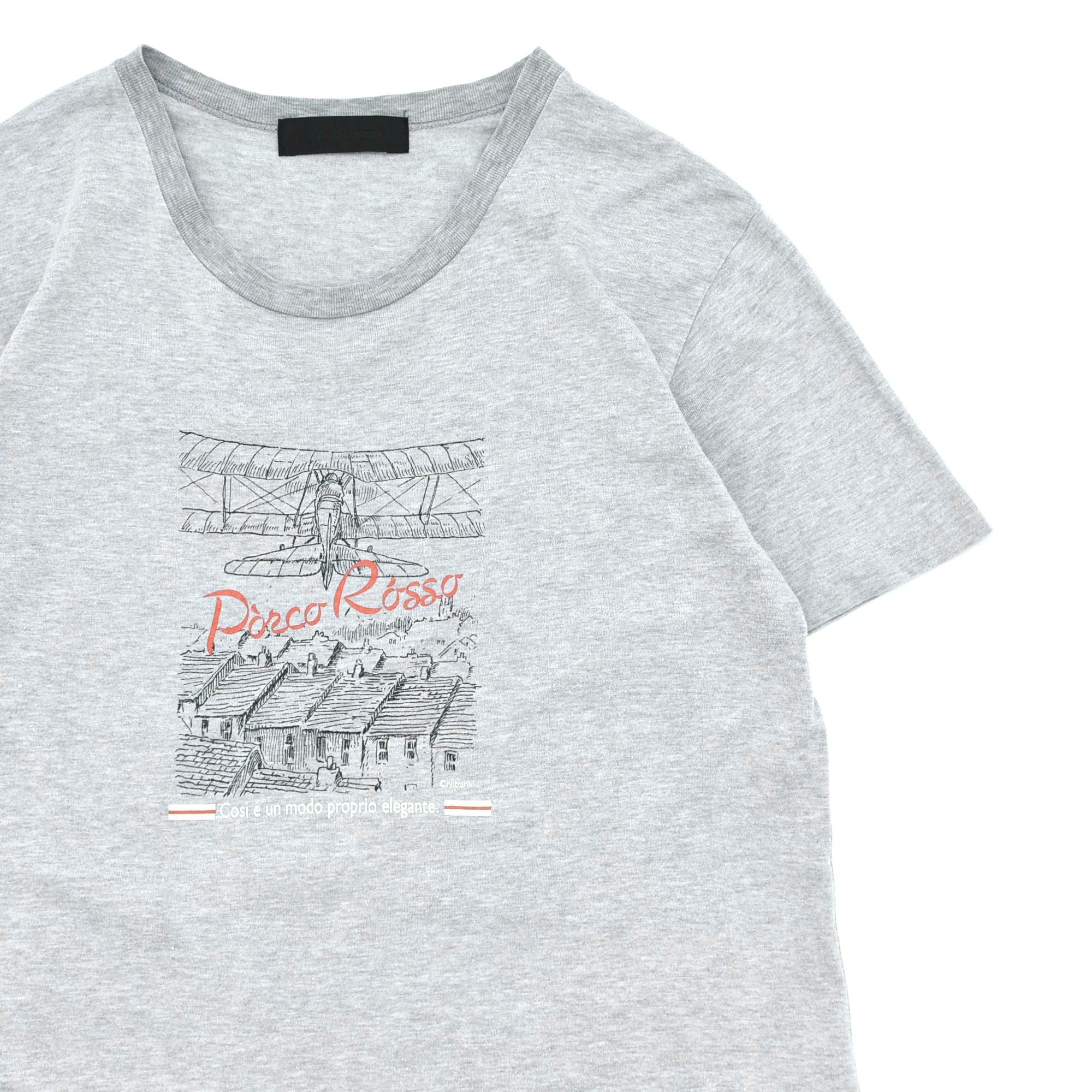 仕立屋 GHIBLI Porco Rosso print T-shirt