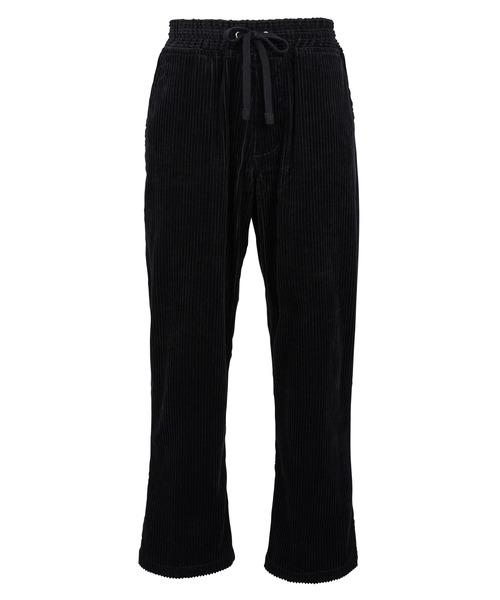 COLOR CORDUROY WIDE STRAIGHT PANTS[REP153]