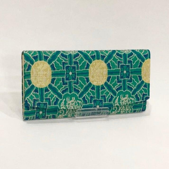 簡易財布(西陣織・八達暈錦柄/No.1)