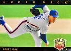 MLBカード 93UPPERDECK Bobby Jones STAR ROOKIE  #019 METS