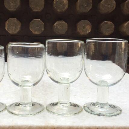 [イラン]ワイングラス手吹きガラス