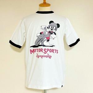 Schott / Disney T-shirts MS Champion Ship Black / Ringer