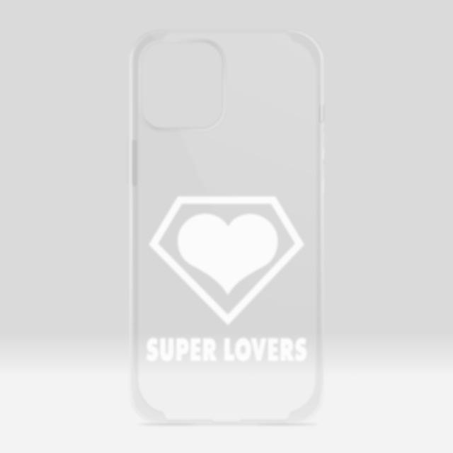 SUPER LOVERS logo/スーパーラヴァーズアイホンケース12ProMax