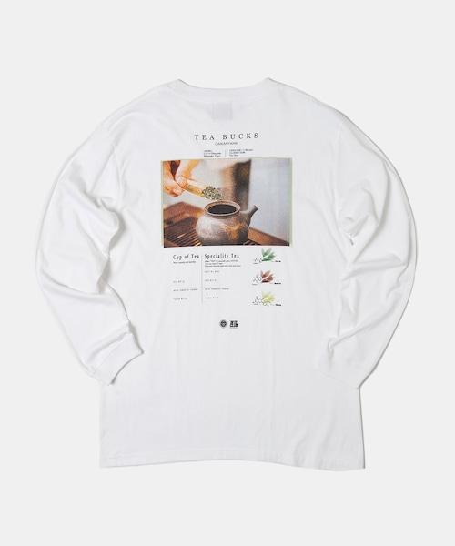 BITE CLUB×TEA BUCKS コラボTシャツ White