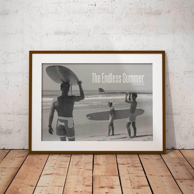 サーフィン映画A3ポスター・The Endless Summer (エンドレスサマー)・モノ1