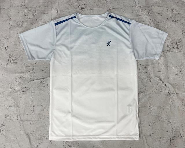 【予約販売】ゲームTシャツ(ホワイト/ネイビー)