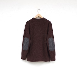 comm.arch. Alpaca Wool Patched P/O